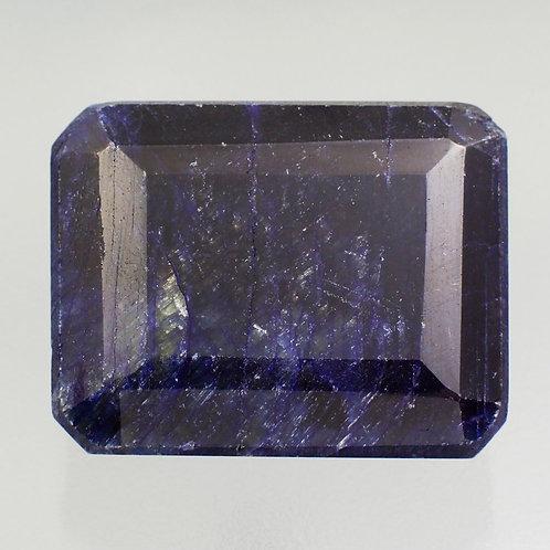 Камень голубой сапфир натуральный 133.20 карат
