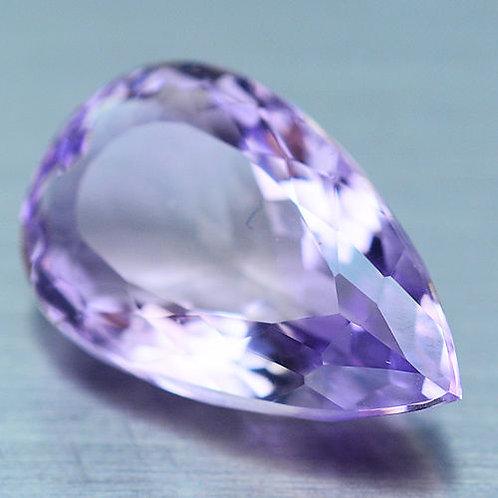 Камень фиолетово-золотистый Аметрин натуральный 14.70 карат