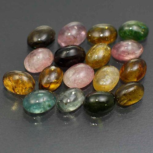 Камень Турмалин натуральный набор 15.03 карат