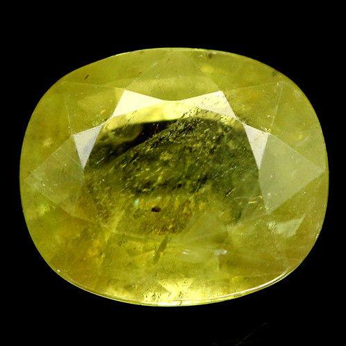 Камень Сфен натуральный 4.98 карат