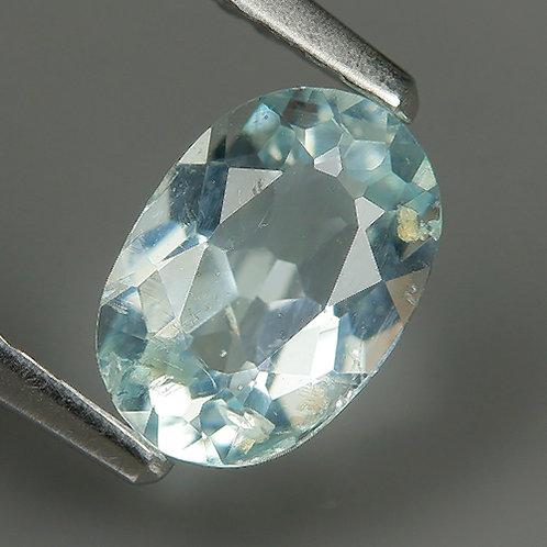Камень Аквамарин натуральный 0.70 карат