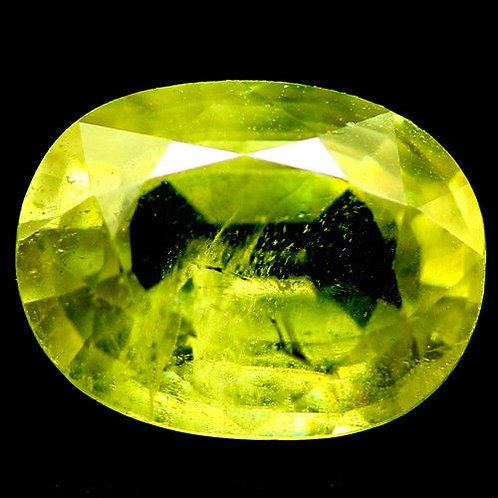Камень Сфен натуральный 1.64 карат