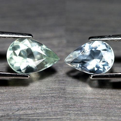Камень Аквамарин натуральный 1.73 карат