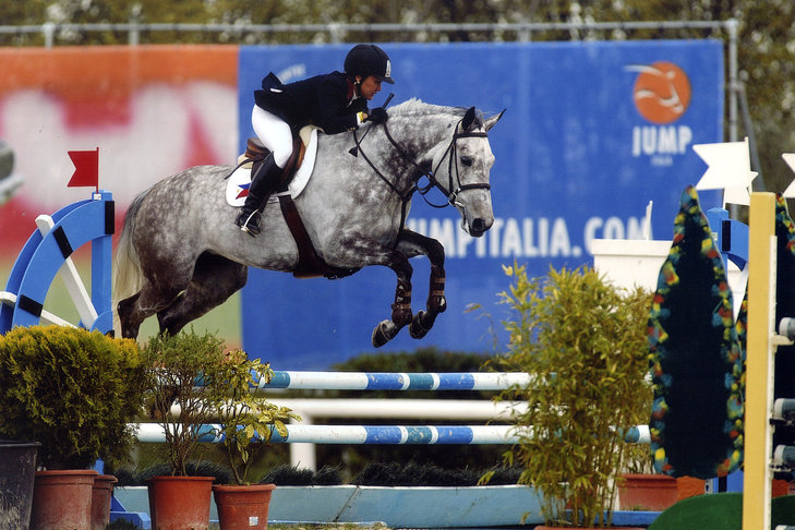 Magic at 7 years old: Jump Italia Arrezzo, Italy 2008.