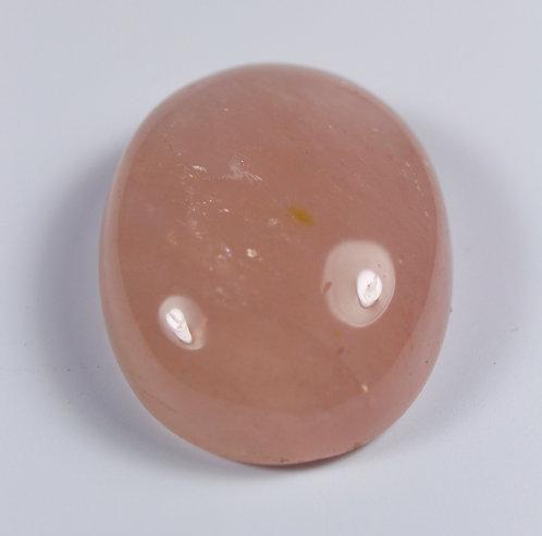 Камень розовый Кварц натуральный 47.35 карат