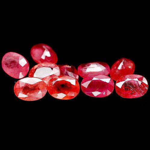Камень Розовый сапфир натуральный 12.04 карат