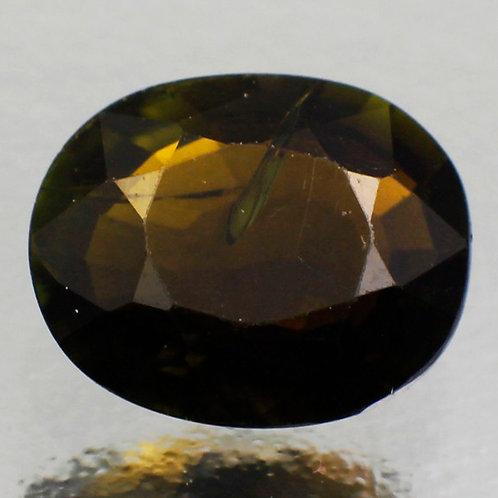 Камень турмалин натуральный 1.24 карат
