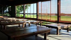 ▲南側座敷から見える田園風景04(9月)