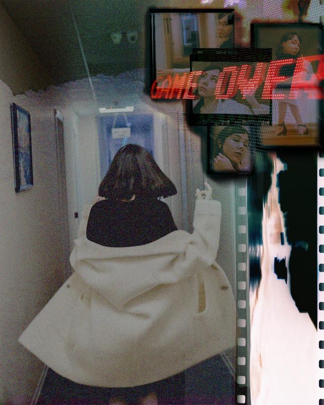 Gam Over Digital Collage Artwork Ina Moa