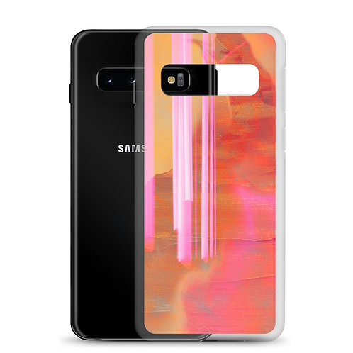 Pink Neon Lights - Samsung Case