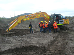 Excavadora Oruga
