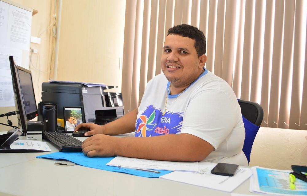 Emanuel Araújo, coordenador do Programa Bolsa Família (Foto: Lucas Costa/ASCOM)