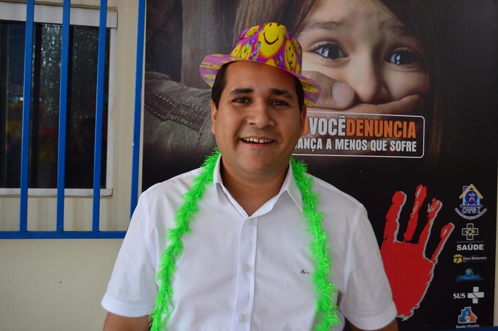 Daniel Herculano – Secretário Municipal de Saúde (Foto: Lucas Costa/ASCOM)