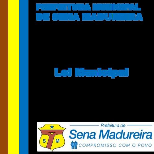 Lei 667/2019 - Titulo de Cidadão Senamadureirense Pedro Antônio de Souza Kredens