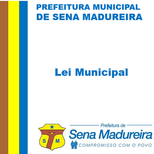 Lei 662/2019 - Titulo de Cidadão Senamadureirense a Luiz Leite da Silva