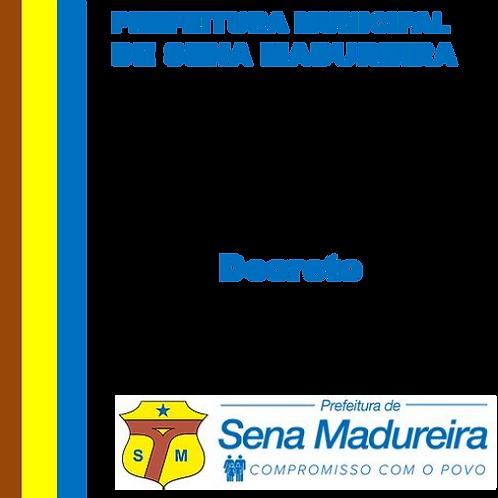 Decreto N° 058/2019 - Feria Estadual de 05 de Setembro - Dia da Amazônia