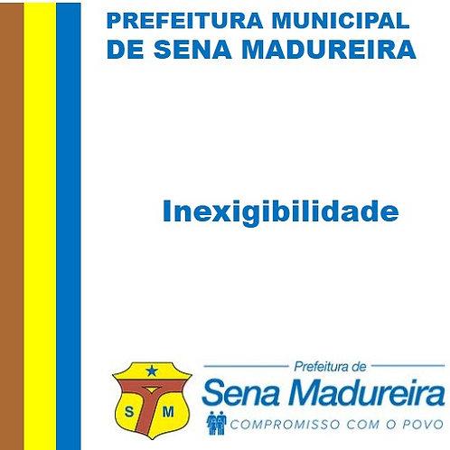Inexigibilidade Nº002/2020 PEÇAS DE REPOSIÇÃO PARA A USINA DE ASFALTO MÒVEL