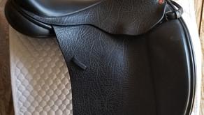 "Gorgeous Lovatt & Ricketts 17.5"" Custom Berkeley Dressage Saddle $2500, plus shipping."