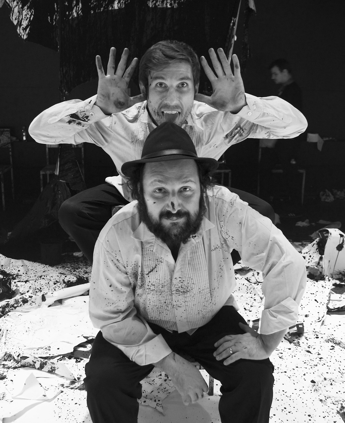 Gustavo Breier e Arthur de Faria