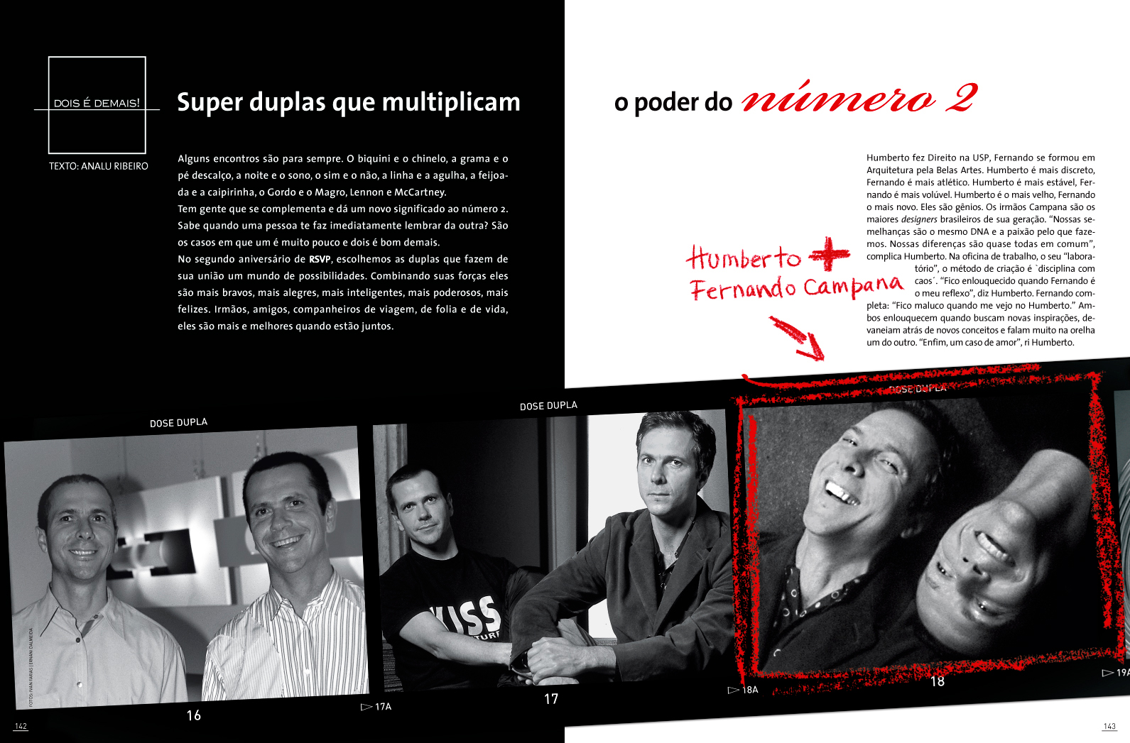revista RSVP - Ed. Abril/Caras
