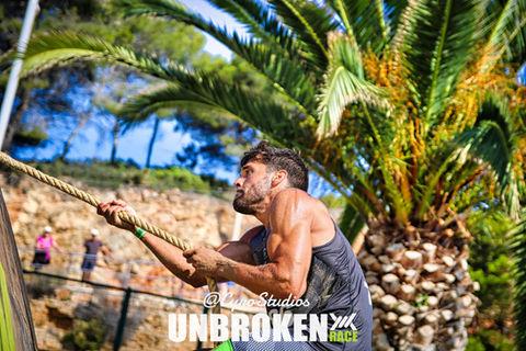 Imanol Peso in Unbroken Race