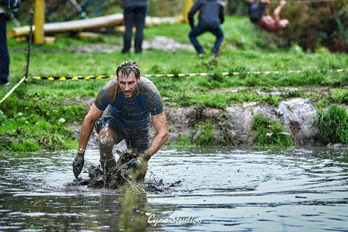 Through the mud