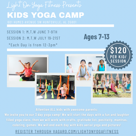 Kids Yoga Camp @ LOYF