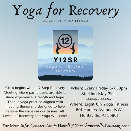 Yoga For Recovery w/ Annie Howell