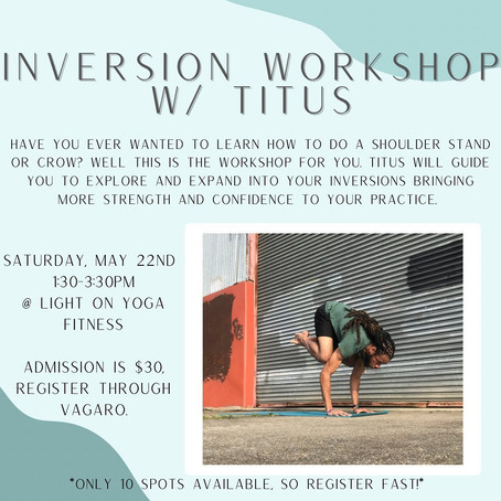 Inversion Workshop with Titus