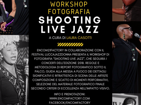 "Shooting ""live Jazz"" photo workshop"