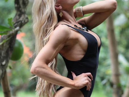 Anna McManamey fitness athlete procard WBBF Sydney 2017