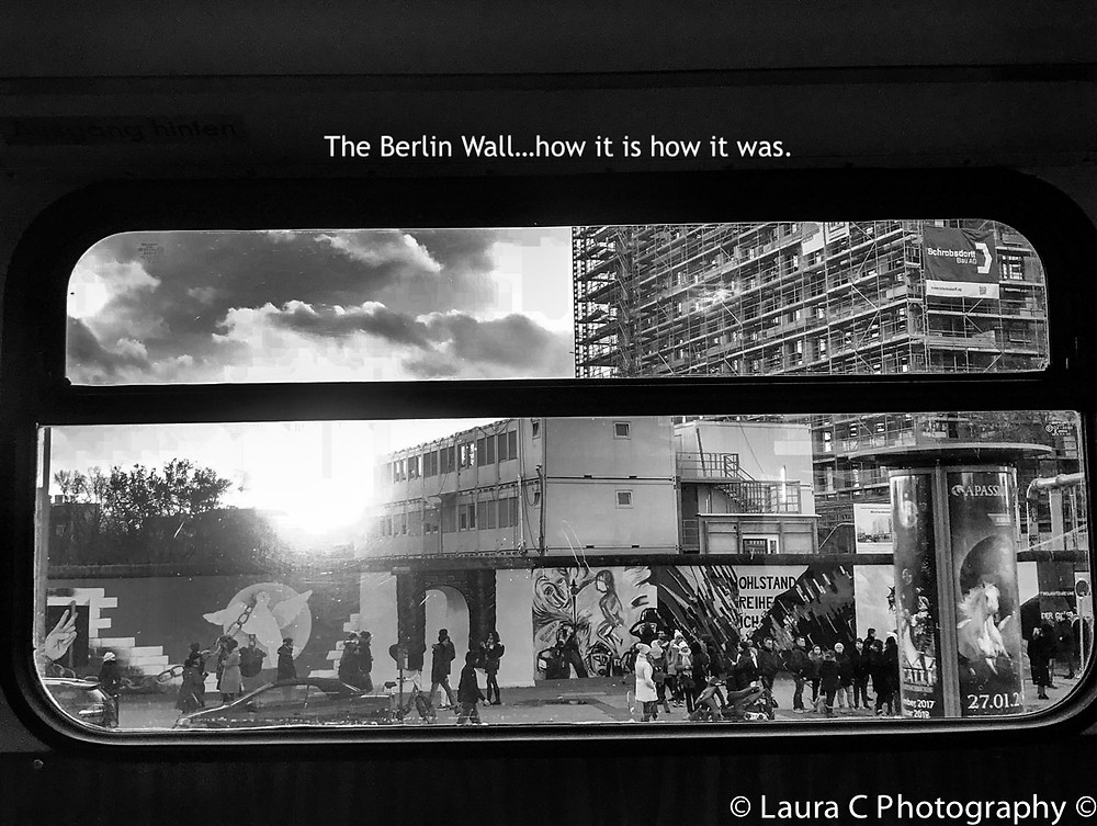 The Berlin Wall lest we forget....the gallery remains so we'll always remember .