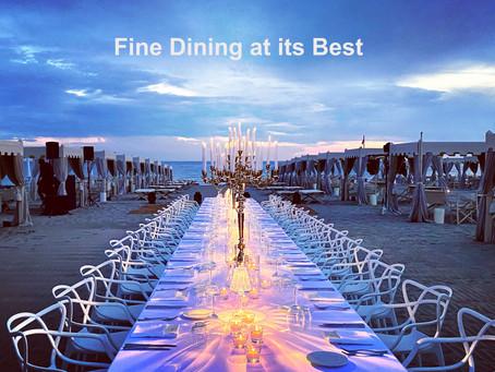 """Fine Dining at """"Alpemare"""" in Forte dei Marmi"""