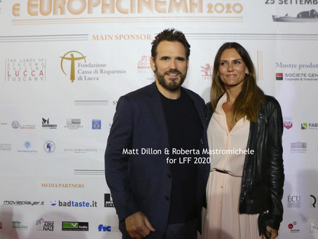 Matt Dillon on the Red Carpet for Lucca Film Festival 2020