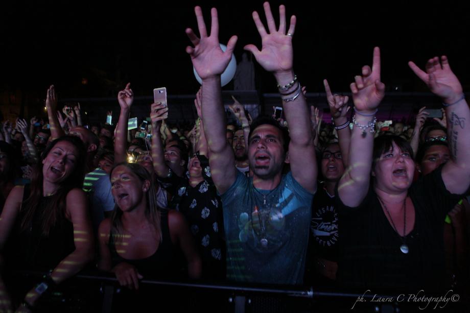 Lucca Summer Festival Fans.