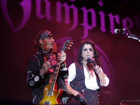 Hollywood Vampires with Johnny Depp