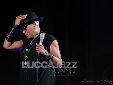 Lucca Jazz Donna 2016 presents the fabulous Dee Dee Bridgewater
