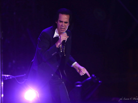 Australian Singer songwriter Nick Cave for Lucca Summer Festival 2018