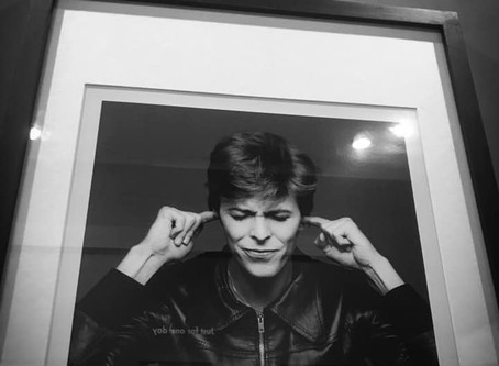 David Bowie's photographer: Masayoshi Sukita