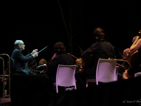 The Master Ennio Morricone takes the stage at 89yrs of age in all his glory & class