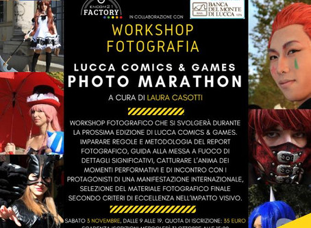 Join our Lucca Comics & Games Photo Marathon