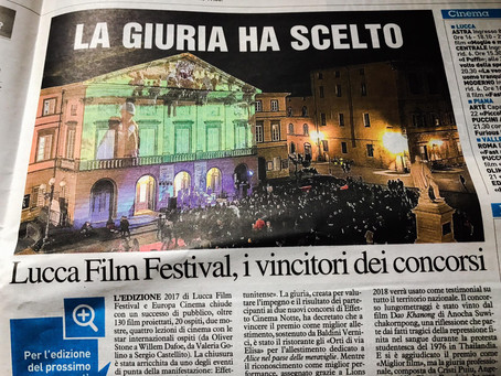 """One of a series of my photos published in """"La Nazione"""" newspaper Lucca edition, for The Lu"""