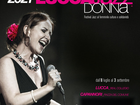 Lucca Jazz Donna 2021 begins on 8th July and accompanies us all summer ....  ph: Laura C Photography