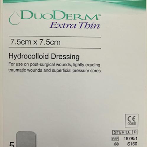 Duoderm Extra Thin Dressings (7.5cm x 7.5cm)