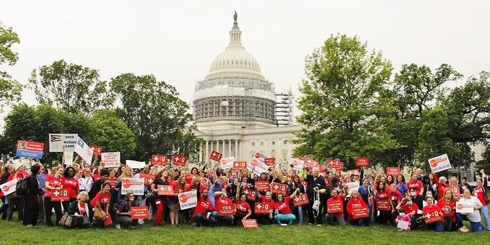 The Nurses Take DC Conference & Lobbying Rally 2020