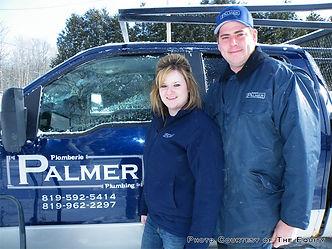 palmer plumbing shawville, palmer plumbing quyon, tim palmer, kayla palmer