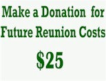 $25 Donation for Future Reunion Costs