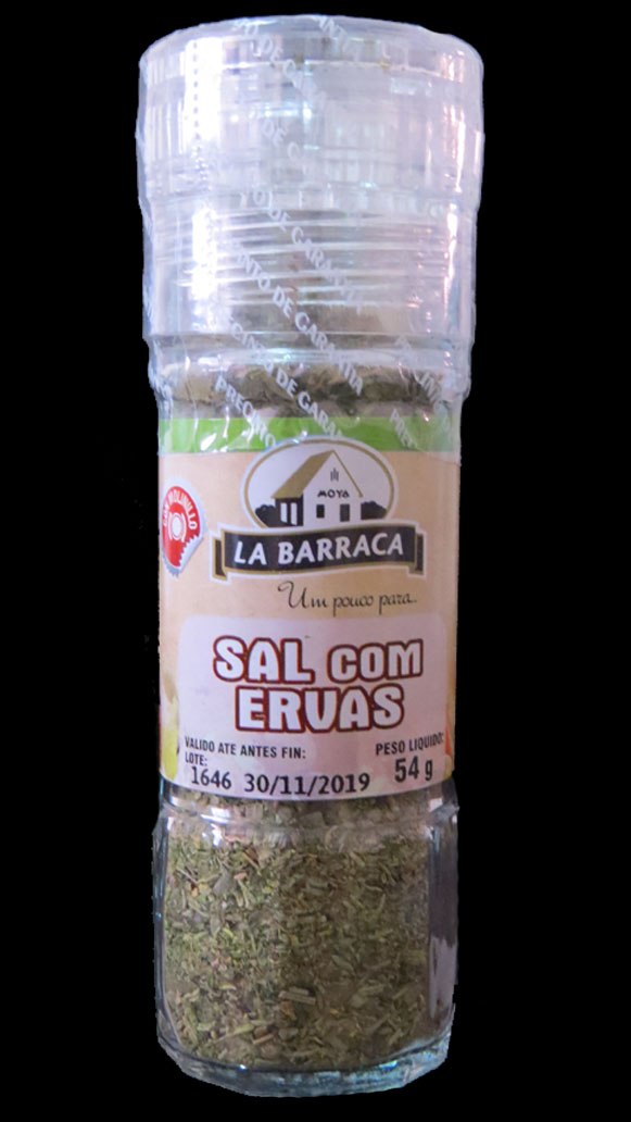 Sal com Ervas c/ moedor