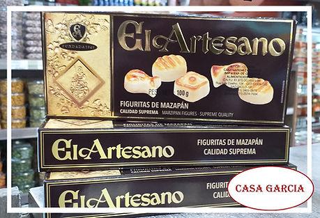 Torrones El Artesano Casa Garcia