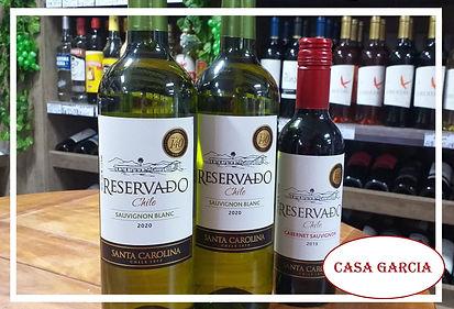 vinhos chilenos na casa garcia